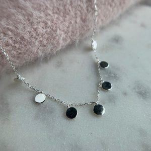 Collar mini medallitas